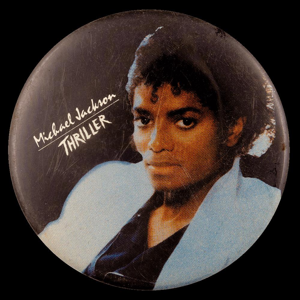 Michael Jackson Thriller Entertainment Busy Beaver Button Museum