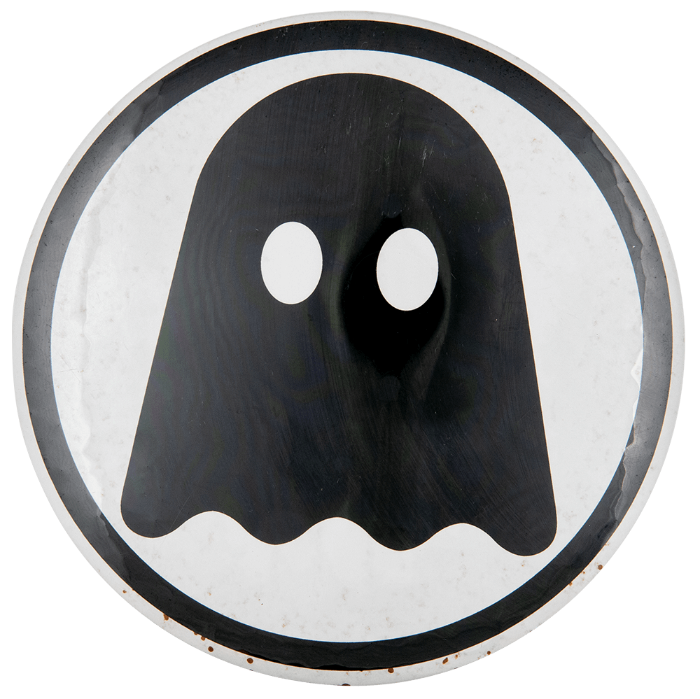 Pac-Man Ghost Entertainment Button Museum