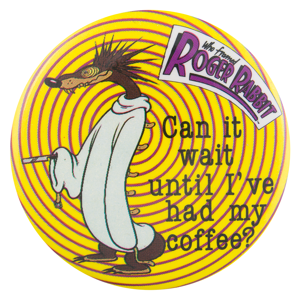 Psycho Weasel Who Framed Roger Rabbit | Busy Beaver Button Museum
