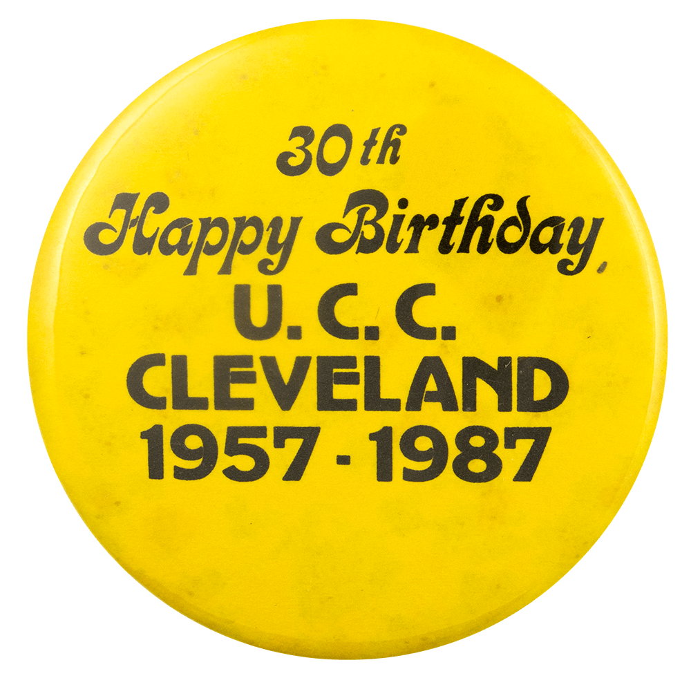 30th Birthday UCC Cleveland Event Busy Beaver Button Museum