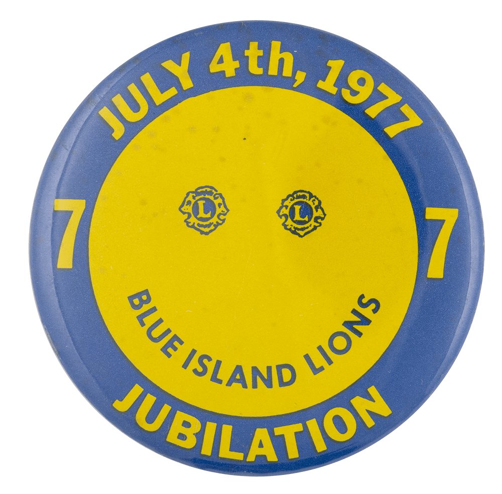 Blue Island Lions Jubilation Event Busy Beaver Button Museum