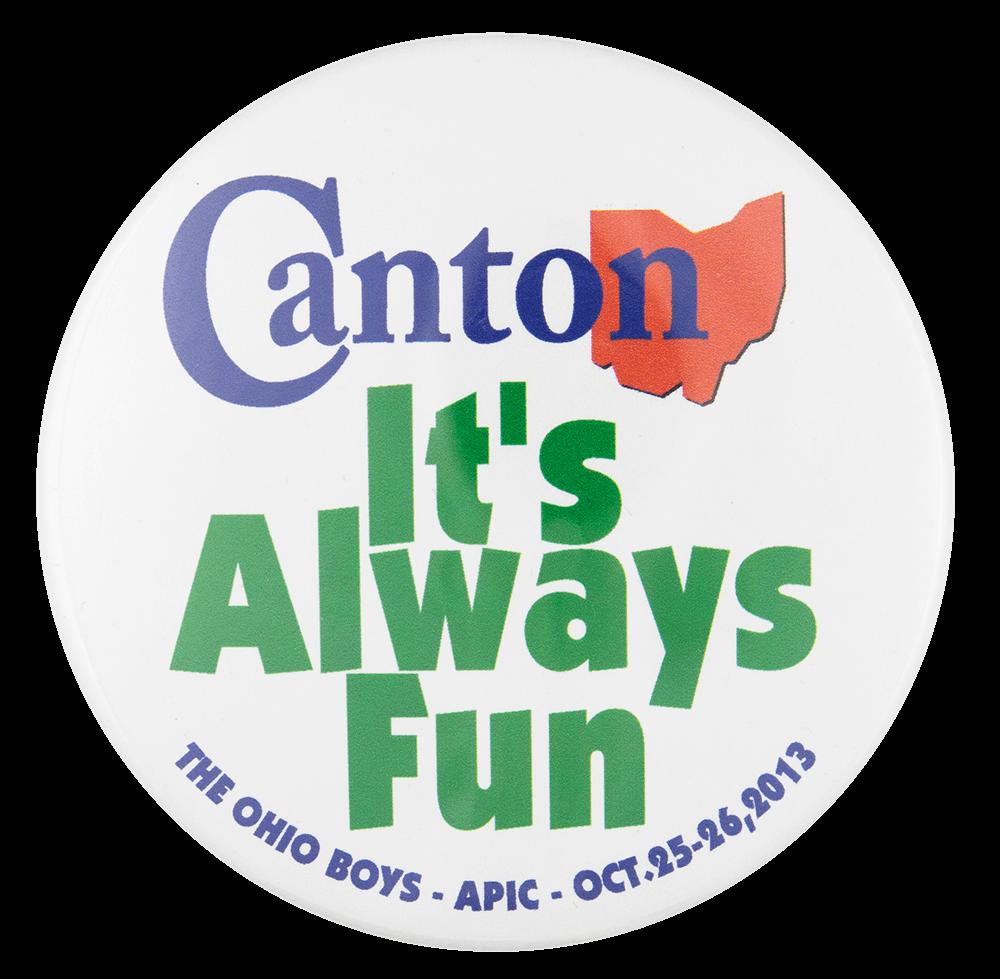 Canton Event Button Museum