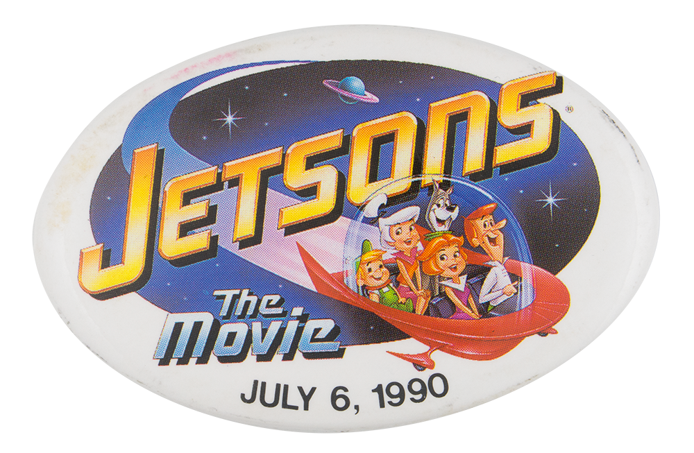 Jetsons The Movie Event Busy Beaver Button Museum