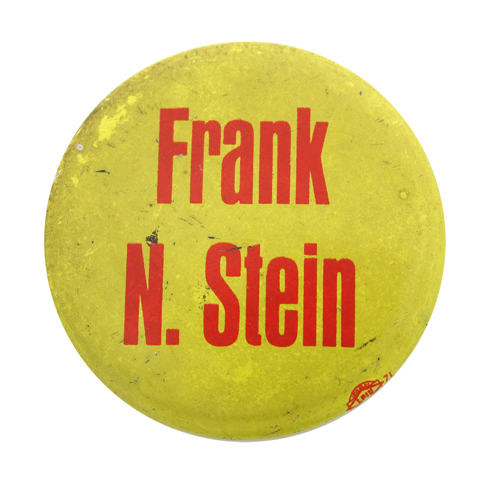 Frank N. Stein Humorous Button Museum