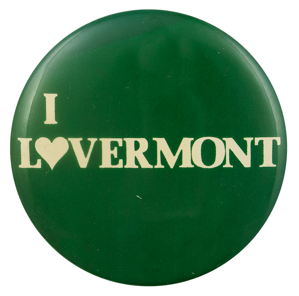 I LoVermont I ♥ Buttons Busy Beaver Button Museum
