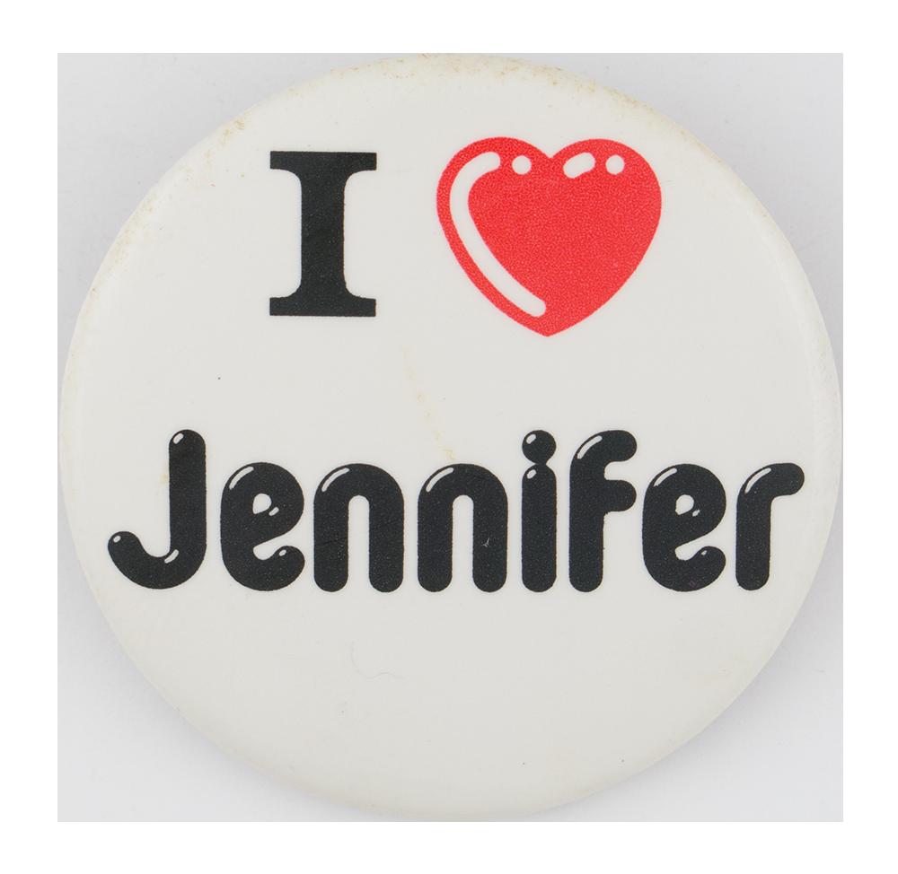 I Love Jennifer I Love Buttons Button Museum