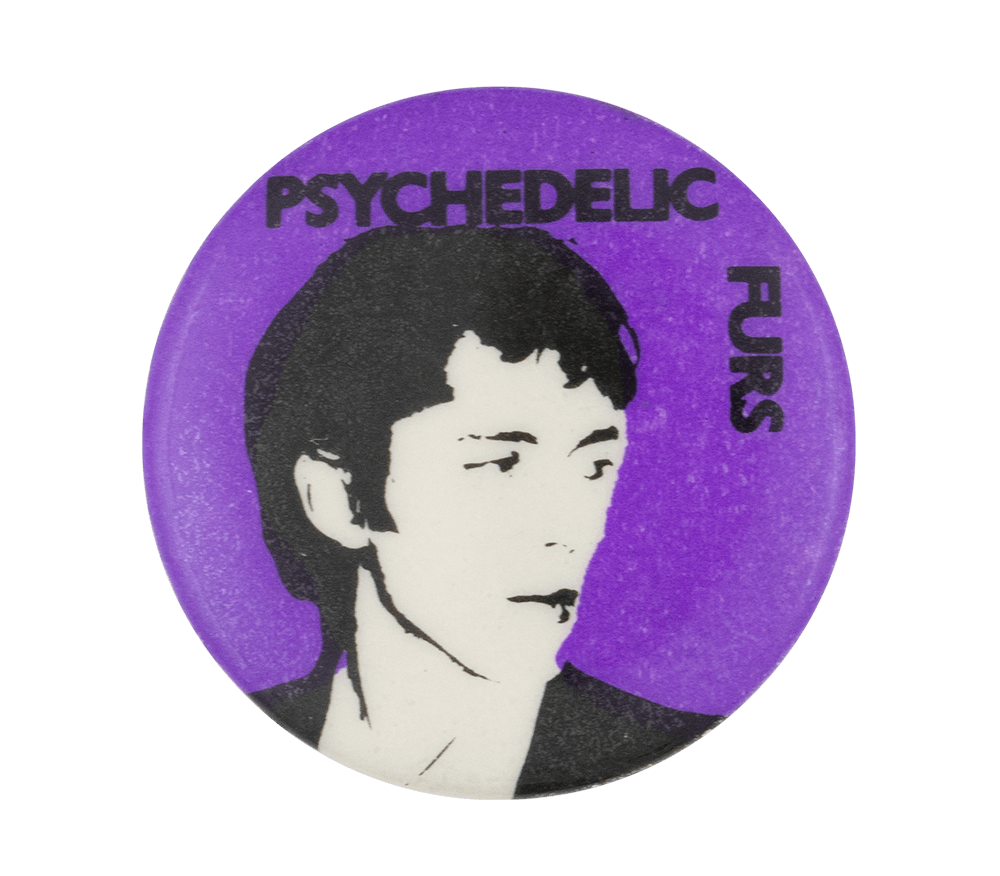 Tim Butler Psychedelic Furs Music Button Museum