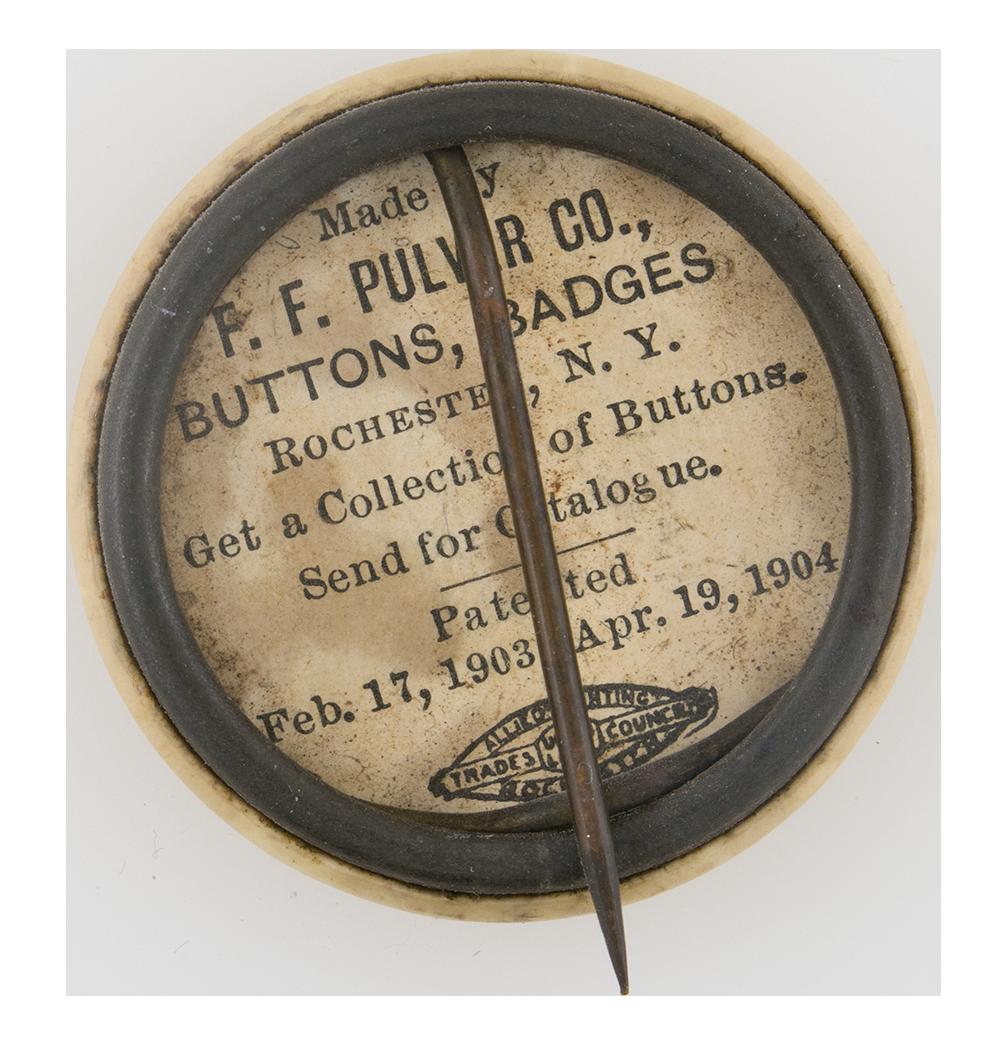 Archibald Wasson button back