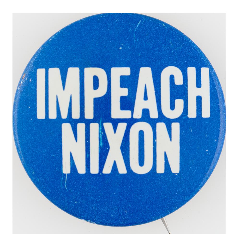 did nixon get impeached