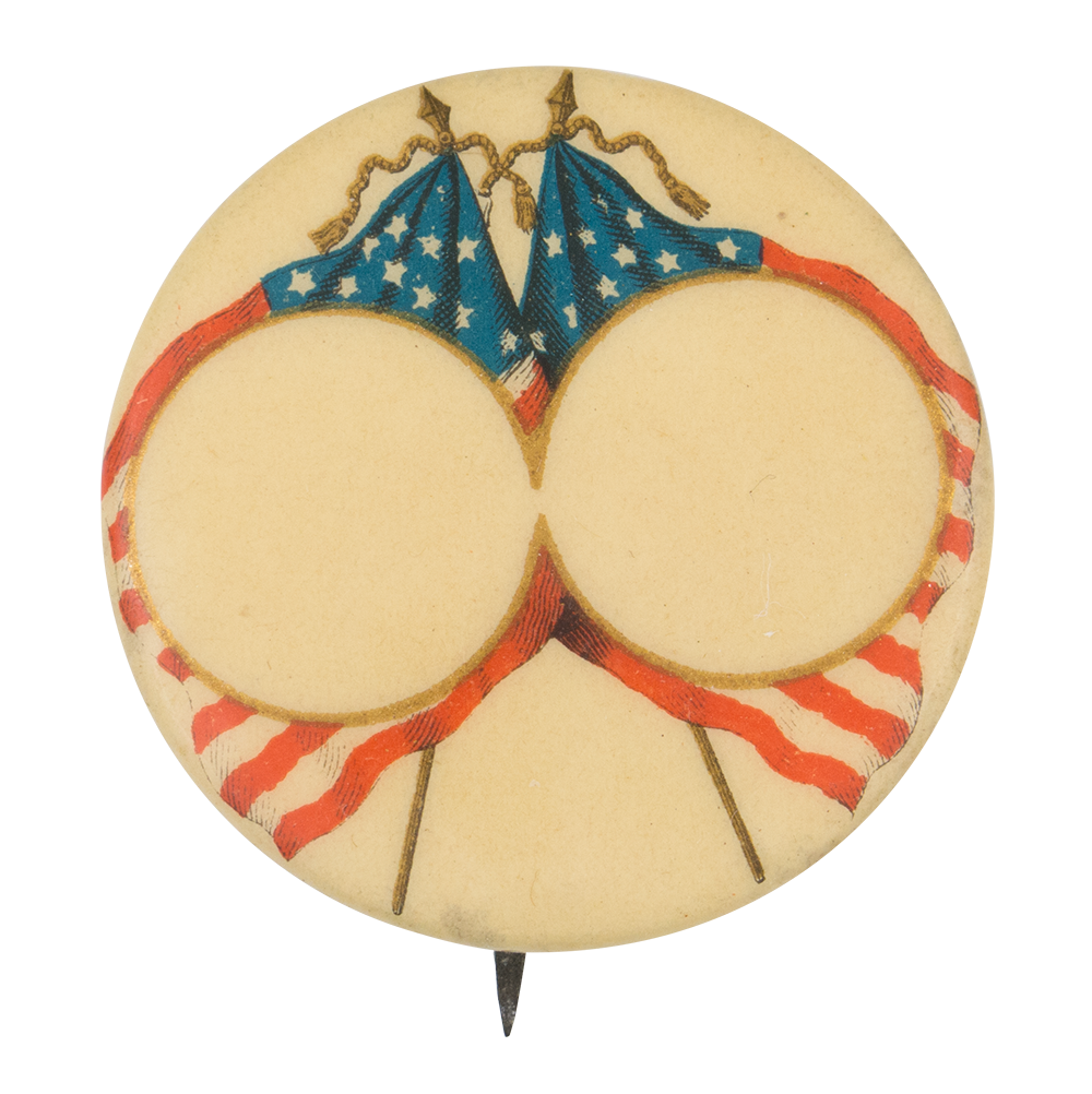 Political Template Circles Political Button Museum