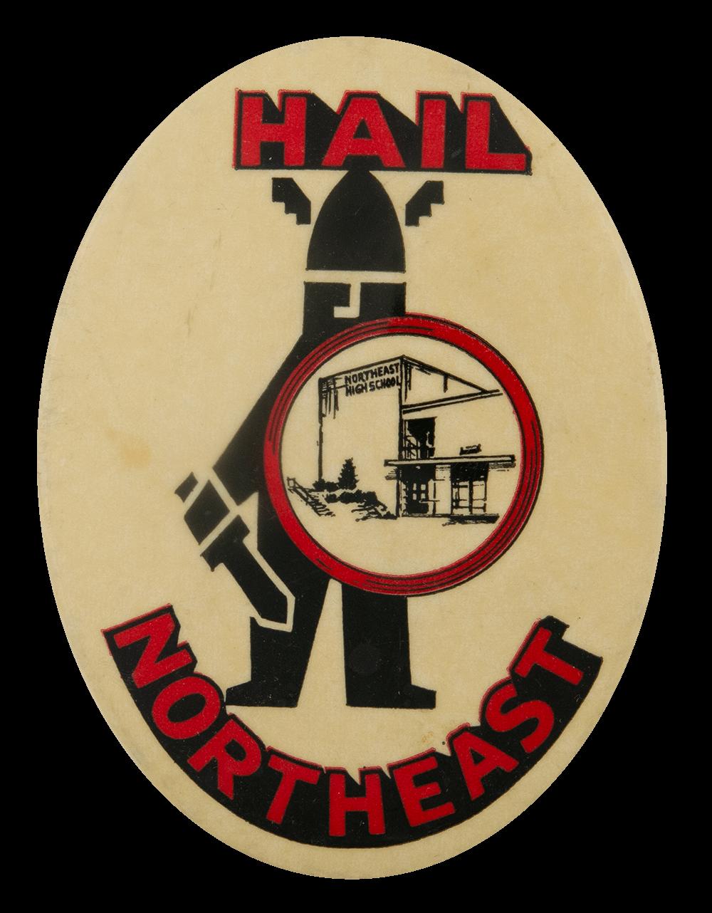 Hail Northeast High School School Busy Beaver Button Museum