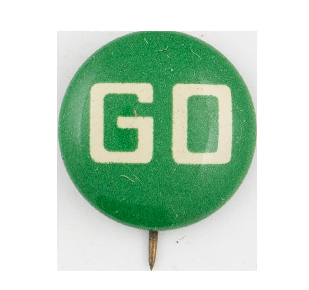 Go Green Button stock illustration. Illustration of button