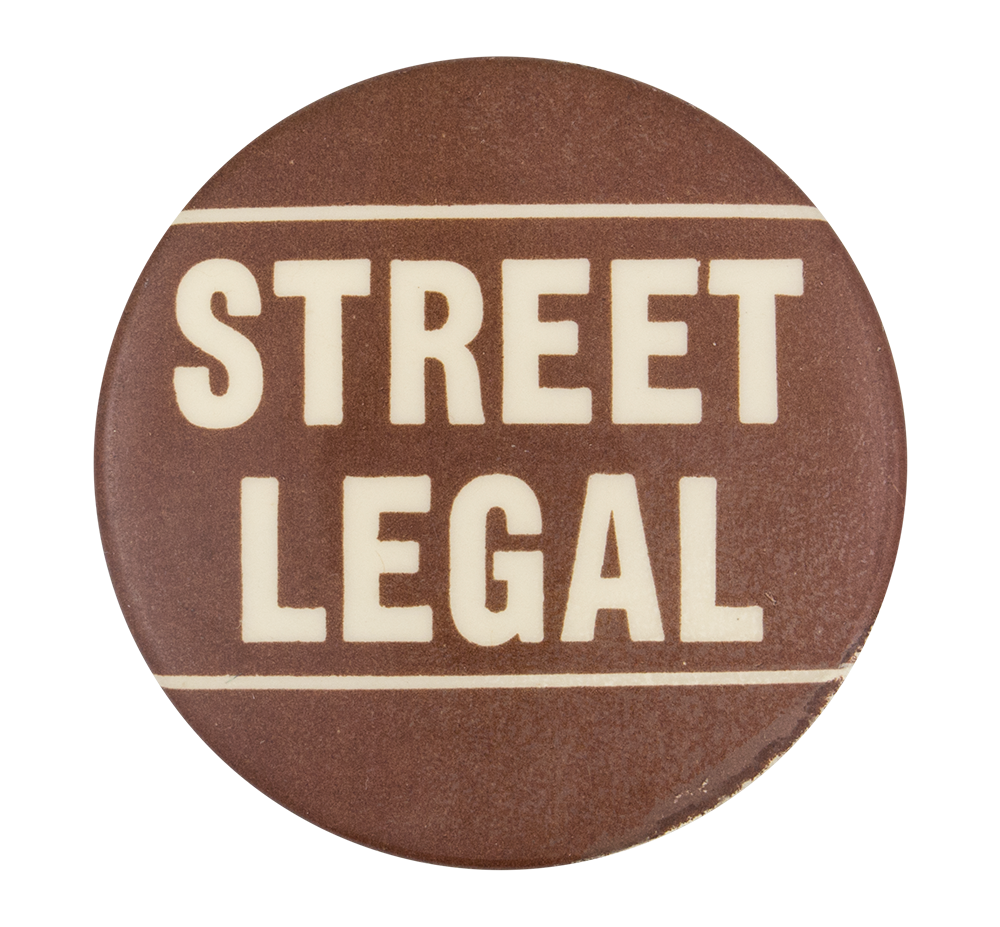 Street Legal Social Lubricators Button Museum