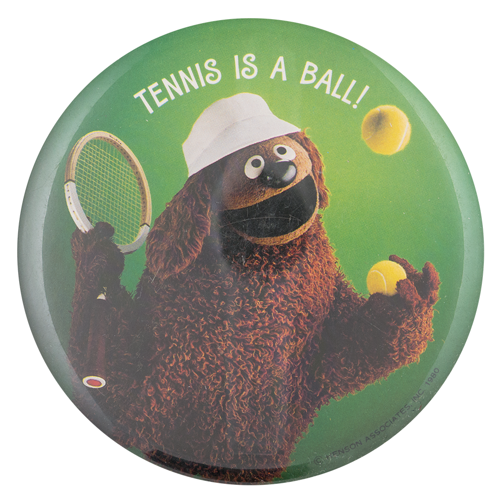 Tennis is a Ball Sports Busy Beaver Button Museum