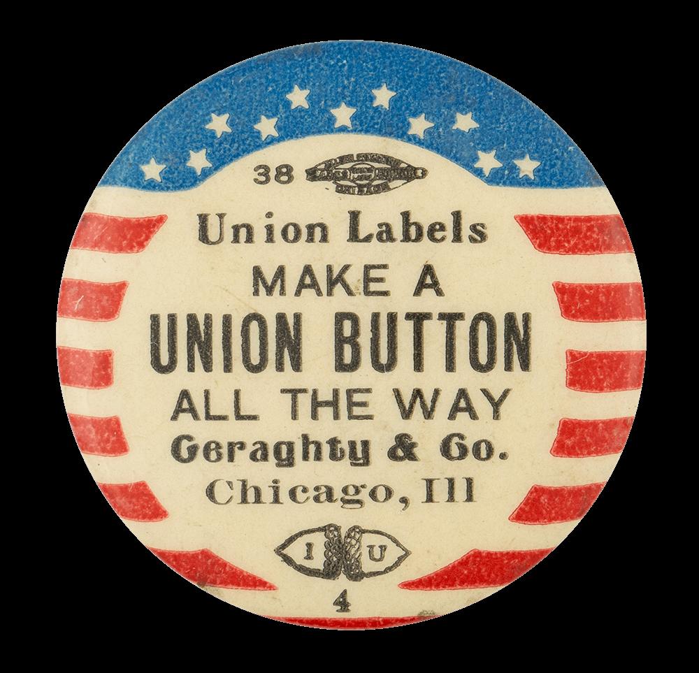 Make a Union Button Self Referential Button Museum