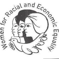 Black and White WREE logo