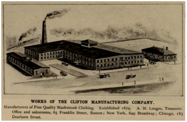 Drawing of Clifton Manufacturing