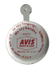 Avis Rent A Car button back Advertising Button Museum