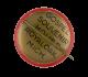 Gospel Souvenir button back House Art Button Museum