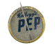 Kelllogg's Pep 370th Bombardment Squadron button back Advertising Button Museum