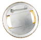 Reddy Kilowatt Badge button back Advertising Button Museum