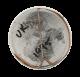 The Fizz Soda Sax Junior button back Advertising Button Museum