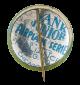 Martin Bomber button back Advertising Button Museum