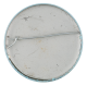 Basil Wolverton Peace Corps button back Art Button Museum