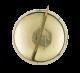 Brazil Flag button back Art Button Museum