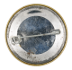 Dove and Rainbow button back Art Button Museum