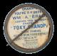 Foxy Grandpa button back Art Button Museum