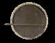 German Shepherd button back Art Button Museum