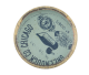 Montenegro Flag button back Art Button Museum