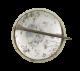Song Sparrow button back Art Button Museum