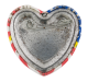 American Flag Heart 2 button back Cause Button Museum