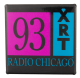 93 XRT Square Var 2 Chicago Button Museum