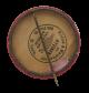 Alhambra Grotto Masonic Organization button back Club Button Museum