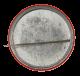 Detroit Anarchistic Madness Negators button back Club Button Museum