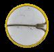 Hopalong Cassidy's Tenderfoot button back Club Button Museum