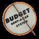 I'm Budget Conscious button back Club Button Museum