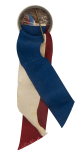 Independent Order of Odd Fellows with Ribbon button back Club Button Museum