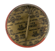 International Brotherhood of Electrical Workers 1952 button back Club Button Museum