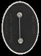 International Jugglers Association button back Club Button Museum