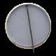 Rockaways' Playland Jo Jo Club button back Button Museum