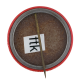 Lane Tech Polish Club button back Club Button Museum