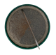 Left Hander Club button back Club Button Museum