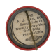 Liberty Bell Bird Club button back Club Button Museum