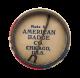 Neighborhood Dad's Club button back Club Button Museum