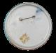 Official Green Hornet button back Club Button Museum