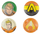 Aquaman Comic 1 group Entertainment Busy Beaver Button Museum